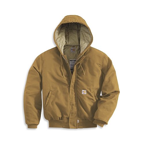Carhartt Style #: FRJ237 Men's Flame-Resistant Midweight Active Jac/Quilt-Lined FRJ237